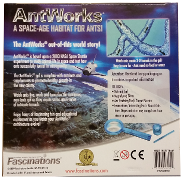 Antworks Gel Ant Habitat Box Back