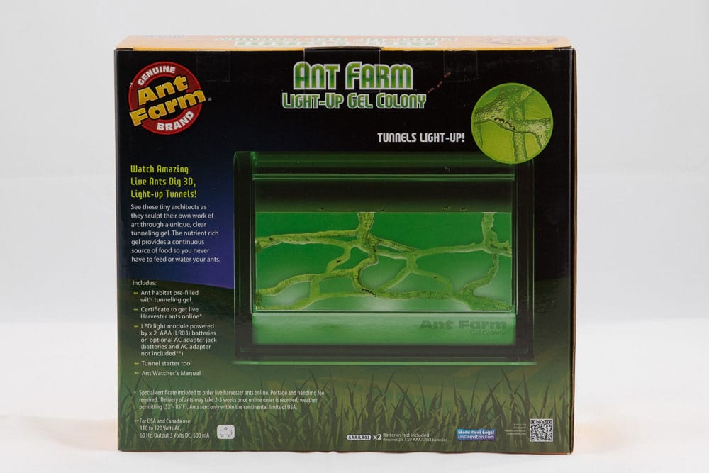 Light-Up Gel Ant Farm 3